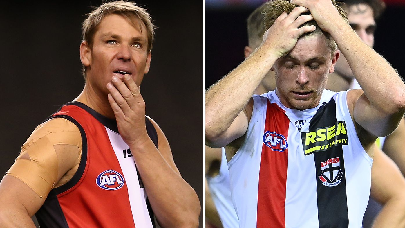 'Turned the TV off in disgust': Shane Warne hammers St Kilda after 'unacceptable' showing against Essendon