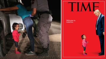 Honduran girl in symbolic photo 'not separated from mother'