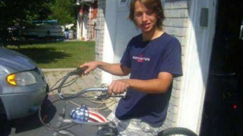 Brandon Majewski, 17, was killed while riding his bike in 2012.