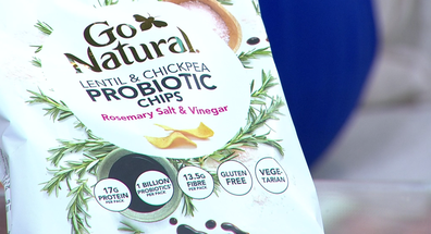 You can expect to see a lot of probiotic-infused snacks.