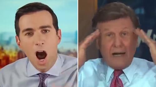 CNBC hosts Andrew Ross Sorkin and Joe Kernen clash