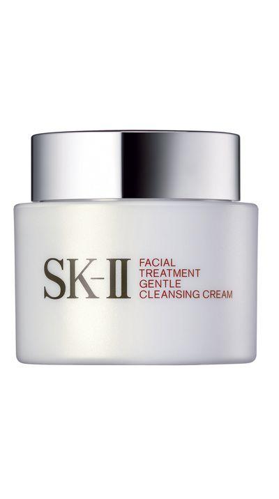 "<p><a href=""http://www.adorebeauty.com.au/sk-ii-facial-treatment-gentle-cleansing-cream.html"" target=""_blank"">#2 Facial Treatment Gentle Cleansing Cream, $110, SK-II</a></p>"