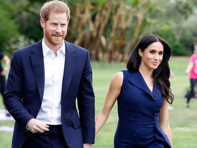Harry and Meghan in Melbourne