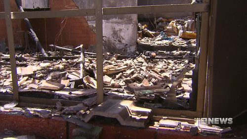 The blaze caused approximately $250,000 worth of damage. (9NEWS)
