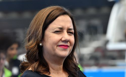 Premier Annastacia Palaszczuk said she won't decide on whether to sack Ms Trad until the CCC determines if it will proceed with an investigation.