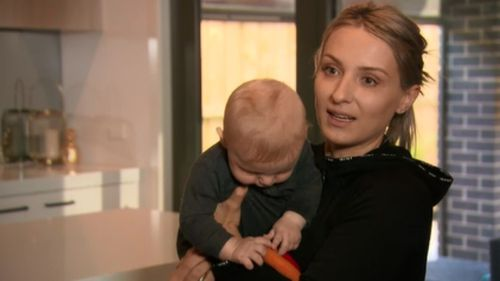 Mum-of-three Jayne Salih said housing estates are cropping up rapidly in the southeast suburb of Clyde North. (9NEWS)