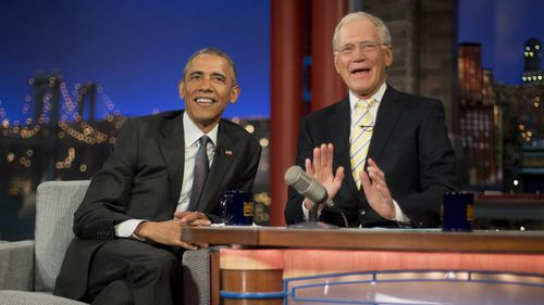 Letterman is known for his sardonic, biting humour. (AAP)