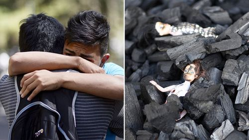 At least 31 girls killed in Guatemala shelter fire