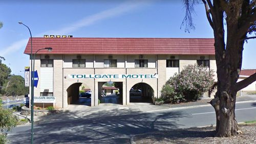 The Tollgate Motel in Glen Osmond, South Australia. (AAP)