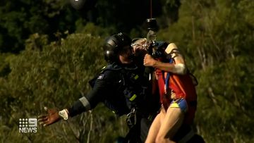 Missing man rescued from bottom of cliff near his Tamborine Mountain home