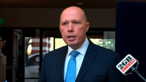 Dutton is urging his Liberal colleagues to get behind Scott Morrison.
