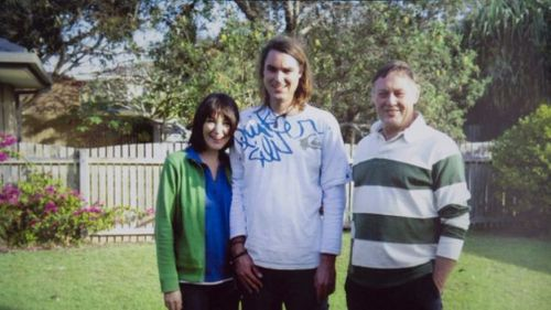 Mr Waugh and his family. (Supplied)