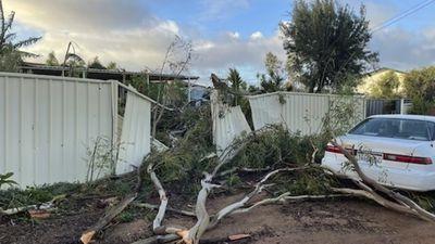 Damage in Kalbarri, WA after Tropical Cyclone Seroja