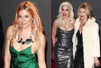 Old-school glamour and chic minis ruled the red carpet at London fashion's night of nights, the 2013 British Fashion Awards.<br/><br/>Kate Moss, Gwyneth Paltrow, Rita Ora, Sienna Miller and Rosie Huntington-Whiteley were just some of the big-name stars out for the ritzy ceremony. Who do you think looked the best? Let's have a peek...