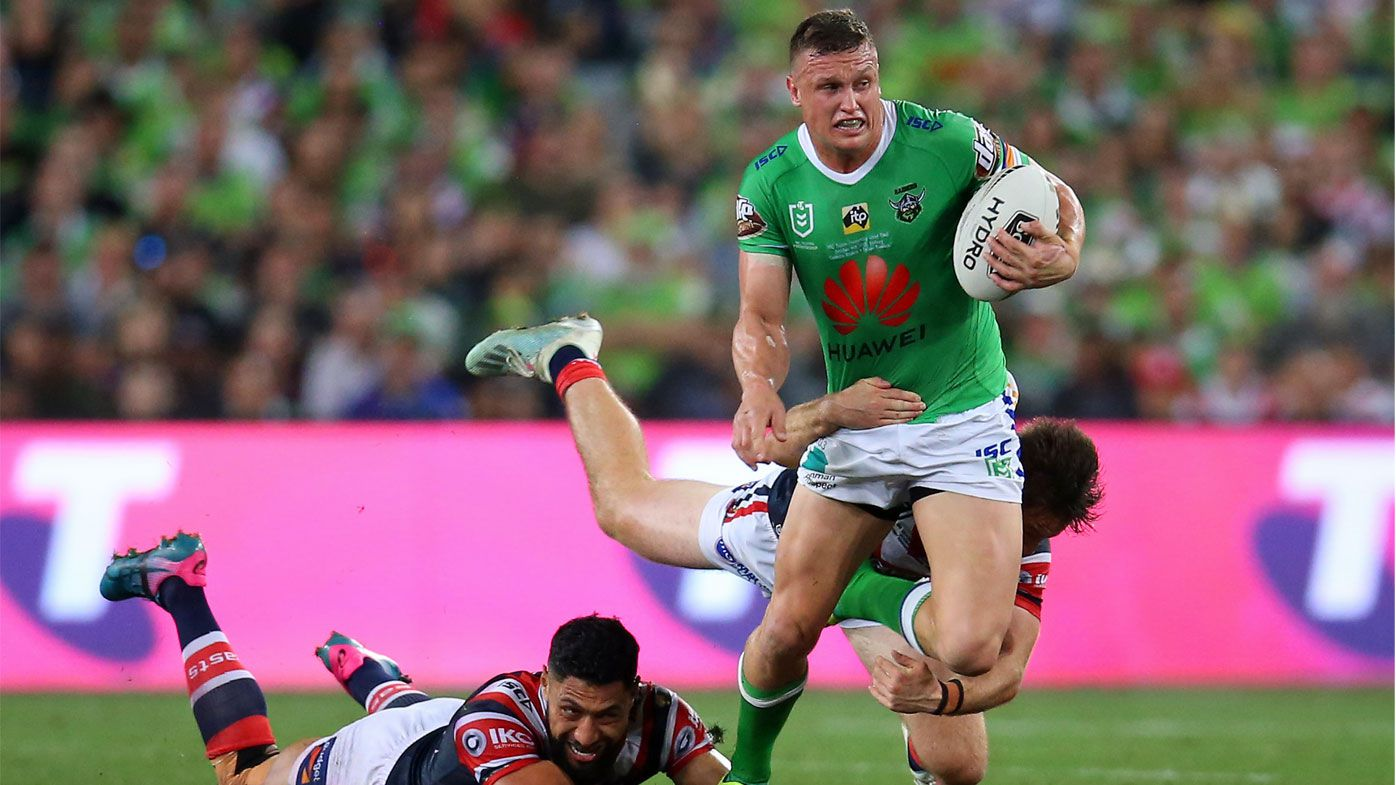 EXCLUSIVE: Andrew Johns' incredible accolade for Raiders star Jack Wighton