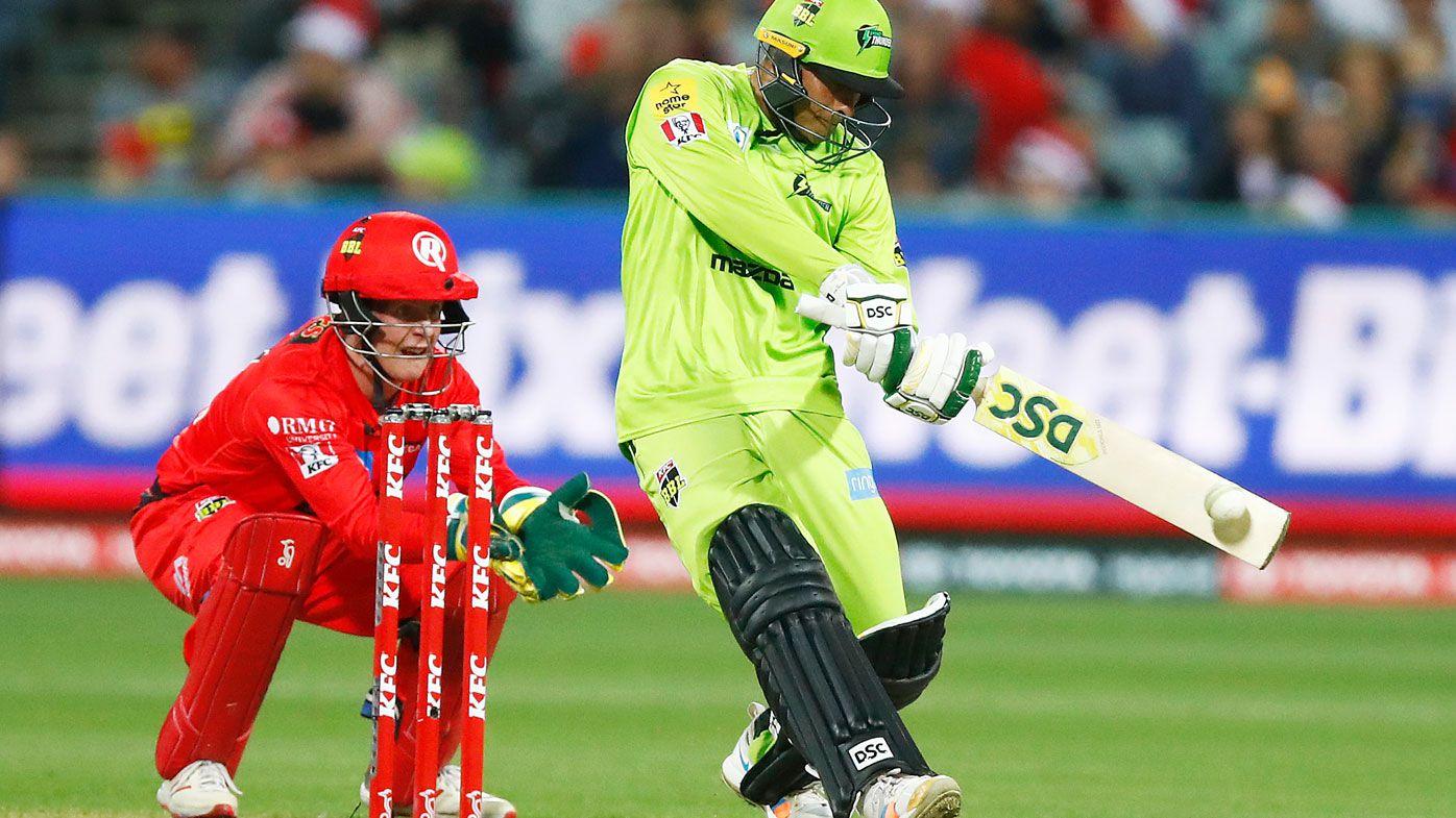 Usman Khawaja stars for Thunder