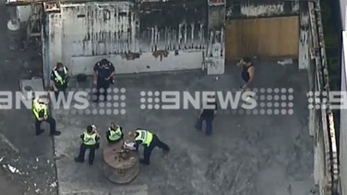 Work Safe has been called to investigate. (9NEWS)