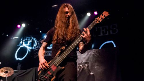 Bassist Pawel Pasek of Decapitated. (Getty)