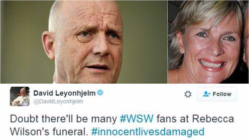 Senator David Leyonhjelm defends response to death of Rebecca Wilson
