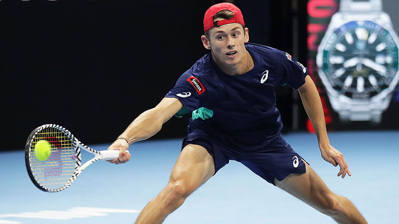 Sinner thumps De Minaur to win Next Gen ATP Finals