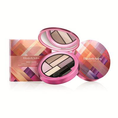 "<a href=""http://www.elizabetharden.com.au/product/567/Sunset-Bronze-Prismatic-Eye-Shadow-Palette/"" target=""_blank"">Elizabeth Arden Limited Edition Sunset Bronze Prismatic Eye Shadow Palette, $50.</a>"