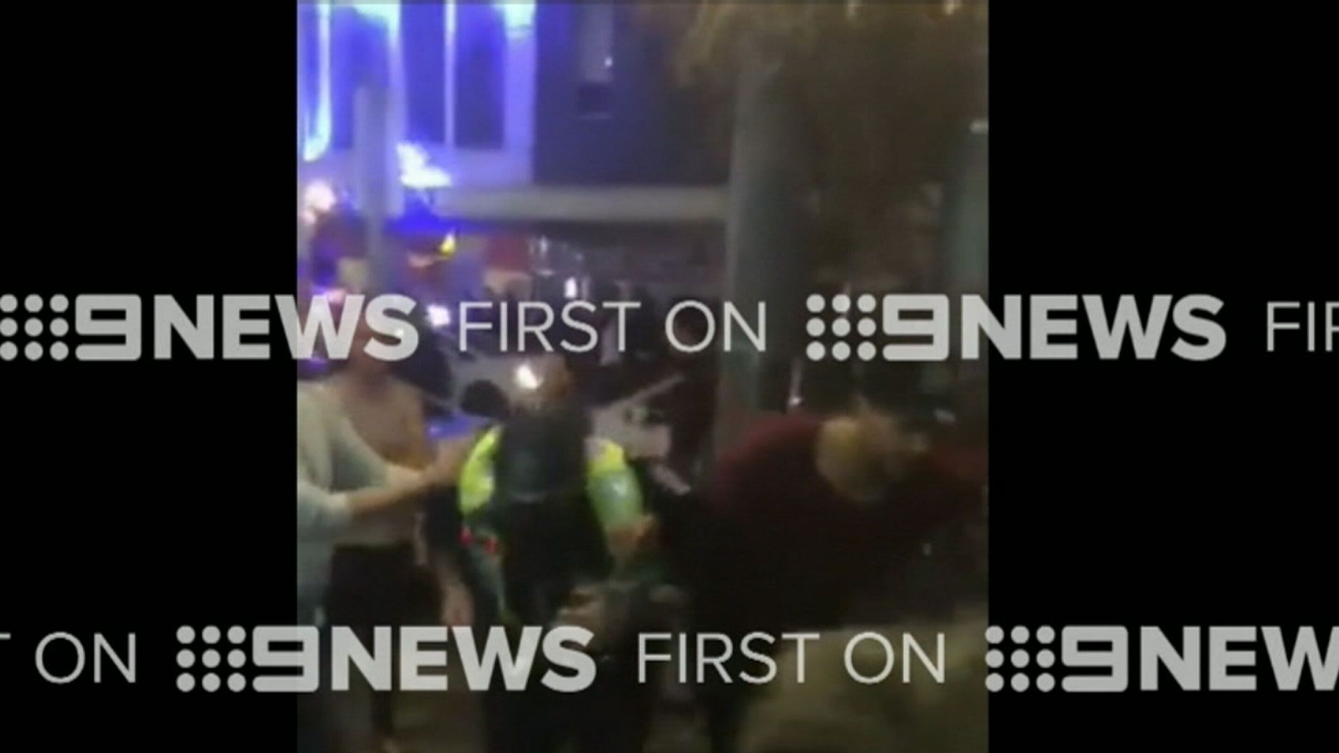 Video shows alleged brawl involving AFL star Paddy Ryder