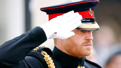 Prince Harry military titles