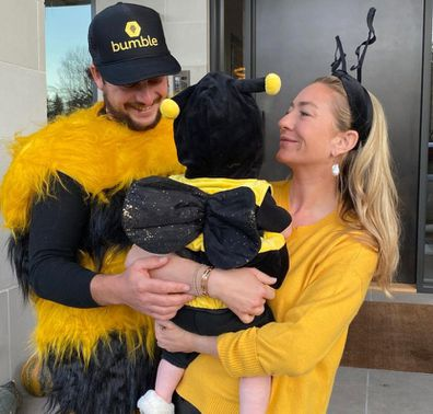 Whitney Wolfe Herd and husband Bumble photo