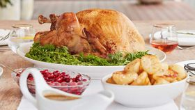 Lenard's roast Christmas turkey