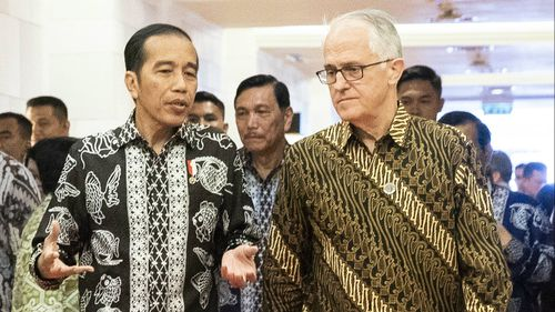 Former Prime Minister Malcolm Turnbull attended Indonesia in an official capacity last month.