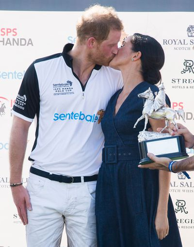 Harry and Meghan at the polo, July