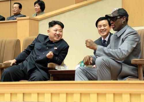 Dennis Rodman has met Kim Jong-un in Pyongyang during other trips.
