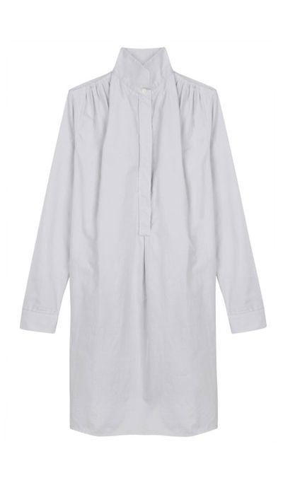 "<a href=""https://www.mychameleon.com.au/stevenson-cotton-shirt-dress-p-3179.html?typemf=women"">Stevenson Cotton Shirt Dress, $417, Atea Oceanie</a>"