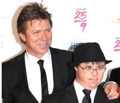 Adam, Richard's eldest child, was born with Down syndrome.