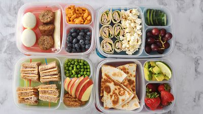 Your first month of school lunches sorted