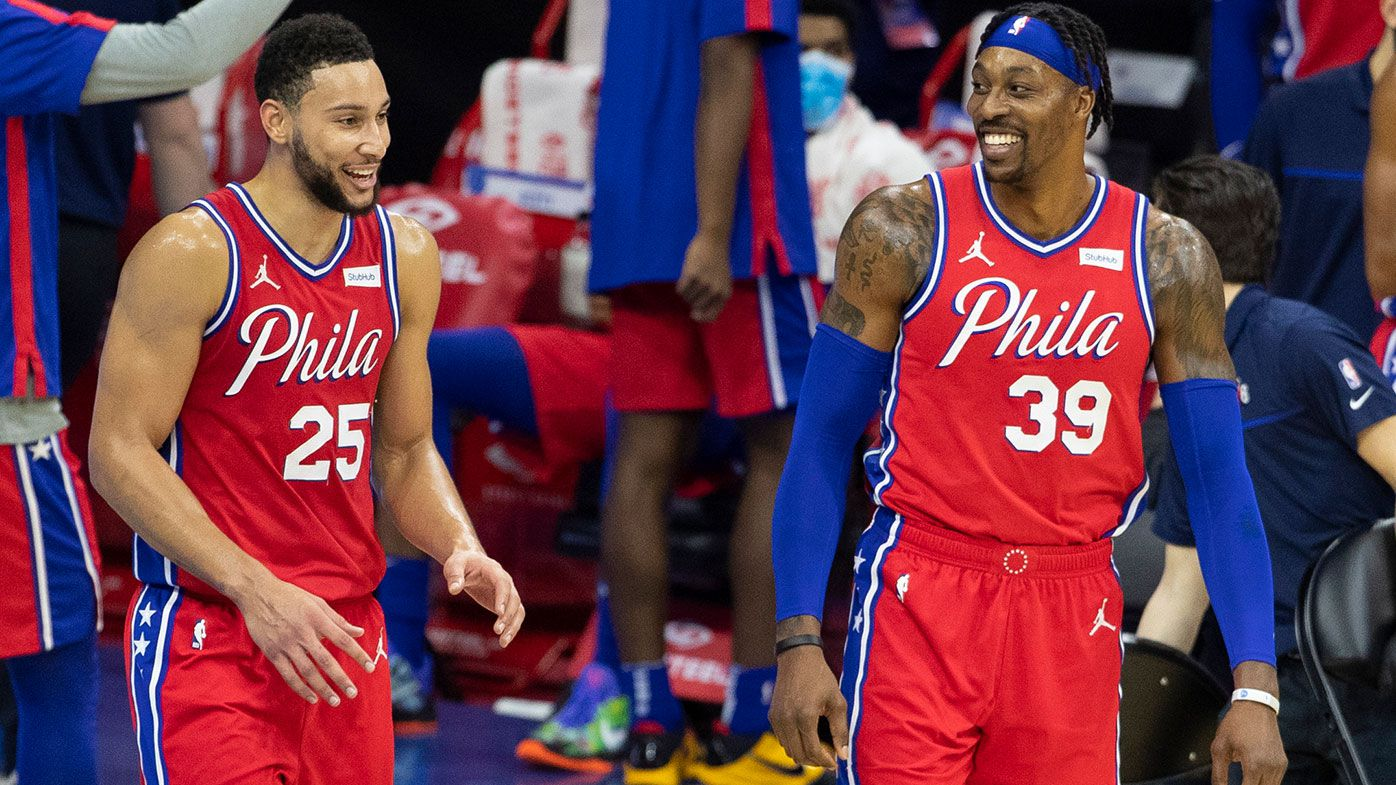 'I will stick with him': Ben Simmons' teammate Dwight Howard hits out at 'negative' NBA fans