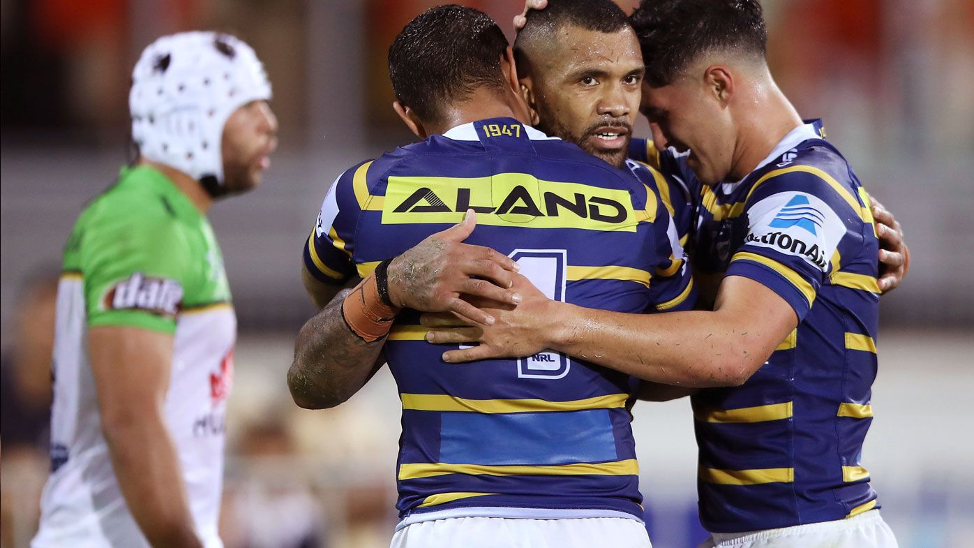 NRL: Parramatta Eels stage spectacular comeback against Ricky Stuart's Raiders in Darwin