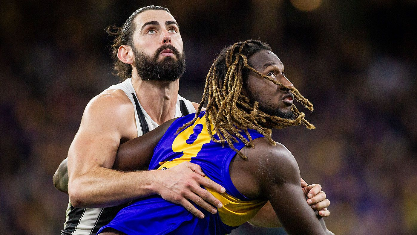 West Coast Eagles star Nic Naitanui set for another stint on sidelines with ankle injury