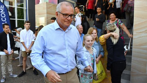 190422 Federal election 2019 Scott Morrison Bill Shorten Malcolm Turnbull campaign trail penalty rates candidates politics Australia