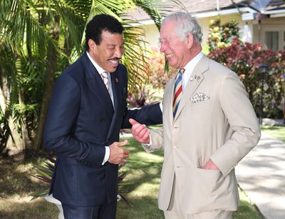 Prince Charles meets Lionel Richie, March 2019