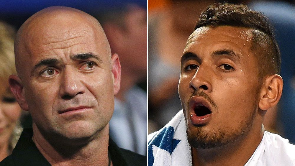 Chase Agassi: Roddick's advice to Kyrgios
