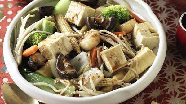 Buddah's Delight vegetable stir-fry
