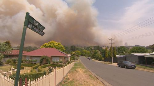 The bushfire burned through 25,000 hectares and claiming the life of Ron Selth and and destroyed more than 80 homes.