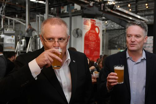 Scott Morrison says the change in next week's budget means all brewers will be on a level playing field. Picture: AAP