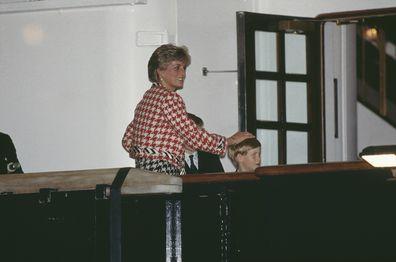 Diana and children reunited in Canada