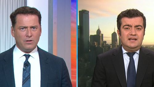Karl Stefanovic spoke to Sam Dastyari about the incident this morning on Today.