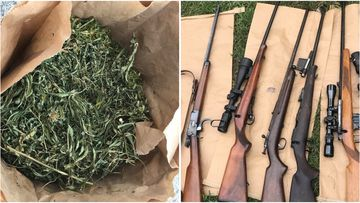 16 men have been arrested and charged after police executed several search warrants on the NSW Coffs Coast.