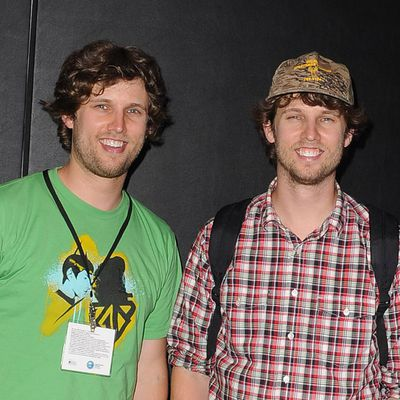 Dan and Jon Heder