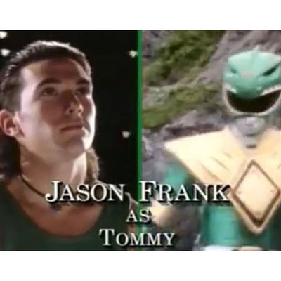 Jason Frank as Green Ranger/Tommy Oliver: Then
