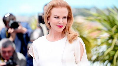 While promoting 'Grace of Monaco' in 2014, Nicole Kidman wore an elegant Altuzarra crepe dress.